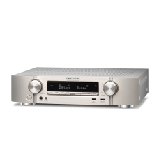 Marantz NR1710 Ultra-Slim 7.2ch AV Receiver with 3D Audio, Music Streaming - Silver