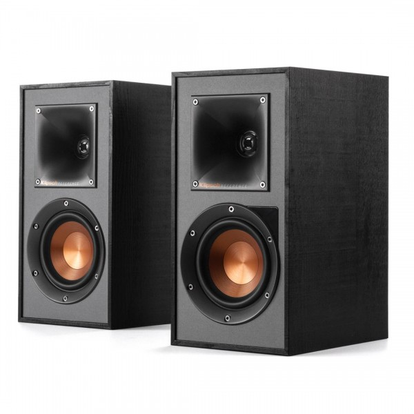 Klipsch Reference Base R-41PM Powered Monitor Speakers Black