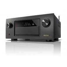 Denon AVR-X4500H Dolby Atmos AV Receiver with Heos & Alexa - Black
