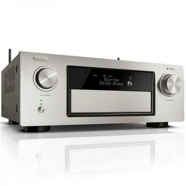 Denon AVR-X4500H Dolby Atmos AV Receiver - Silver
