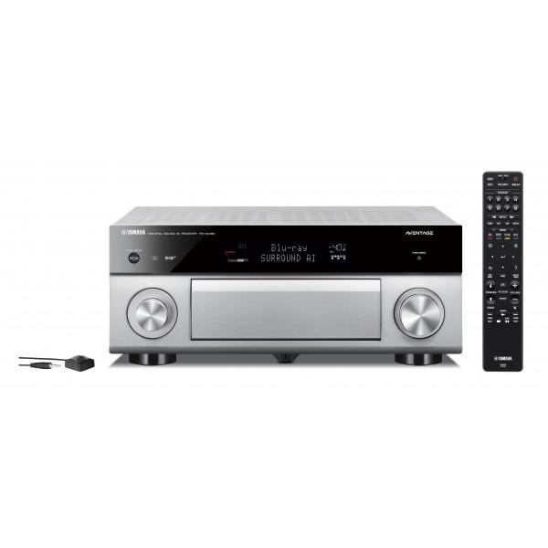 Yamaha RX-A1080 Aventage MusicCast AV Receiver-Titanium