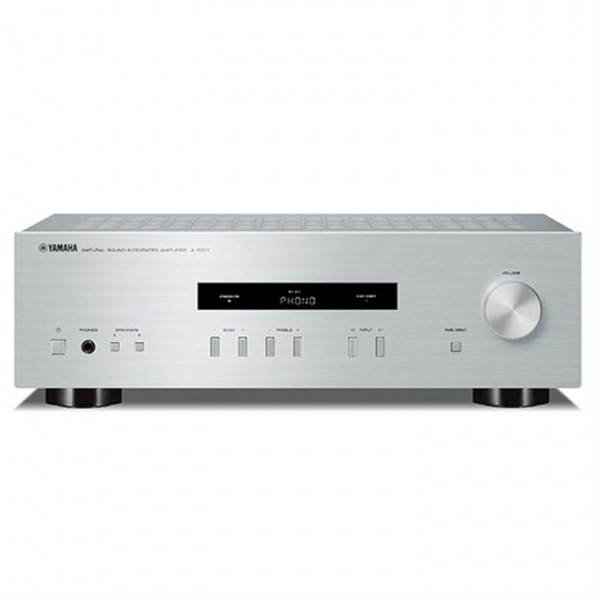 Yamaha AS-201 Stereo Amplifier-Silver