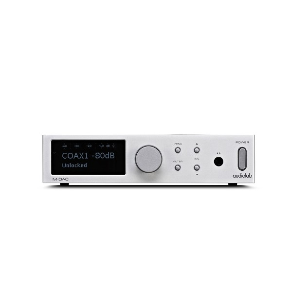 Audiolab M-DAC Digital to Analogue Converter - Silver (LAST ONE)