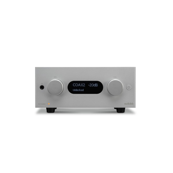 Audiolab MDAC+ Digital to Analogue Converter - Silver