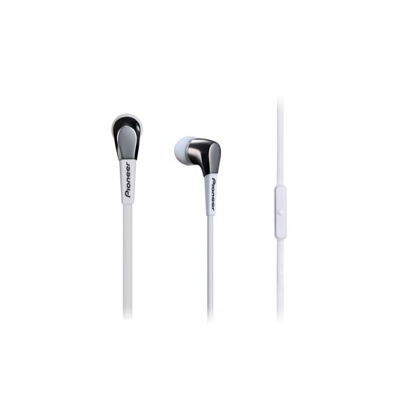 Pioneer SE-CL722T Aluminium Design In-Ear Headphone-White