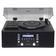 Teac LP-R550USB MKII Turntable with CD Recoder System - Black