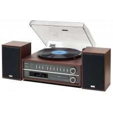 Teac MC-D800 Turntable CD System - Cherry
