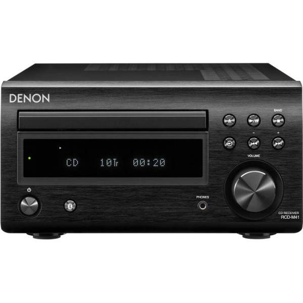 Denon RCD-M41DAB Bluetooth Streaming System-Black