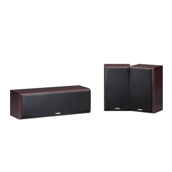 Yamaha NS-P51 Surround Speaker Package-Walnut