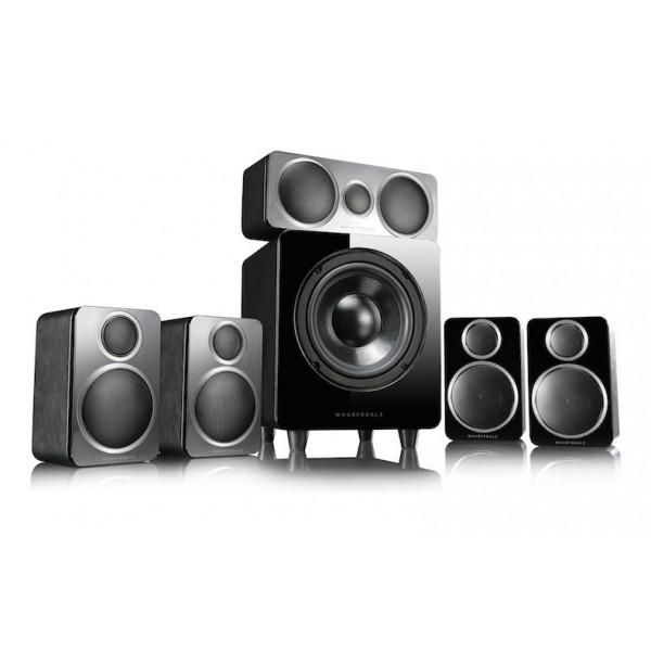 Wharfedale DX-2 5.1 Home Cinema Speakers Package Black