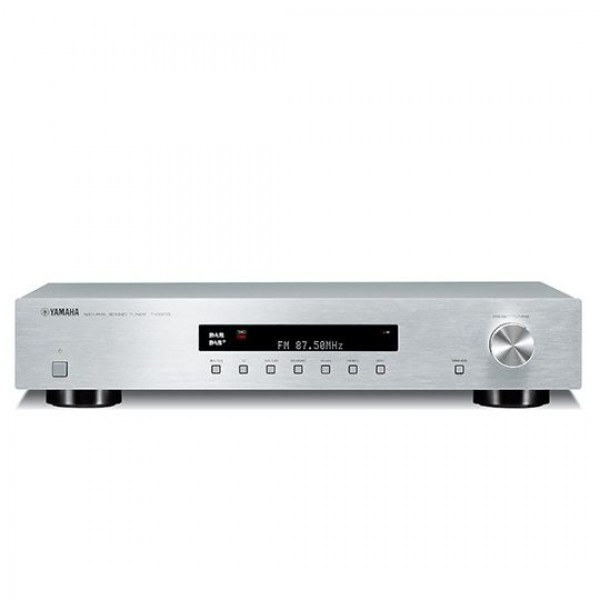 Yamaha T-D500 DAB, DAB+, FM and AM Tuner- Silver
