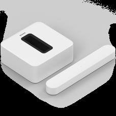 Sonos Beam smart Compact Soundbar & Sub-White