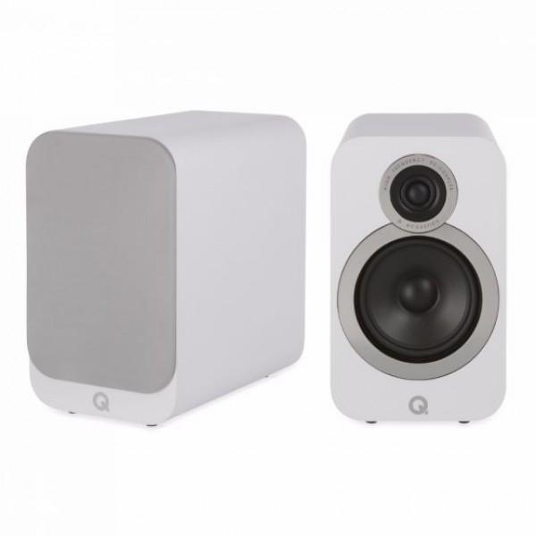 Q Acoustics 3020i  Bookshelf Speakers (Pair)- Walnut