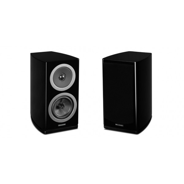 Wharfedale Reva 2 Bookshelf speakers-Black Pair