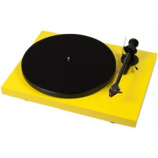 Pro-ject Debut Carbon DC Turntable - Yellow